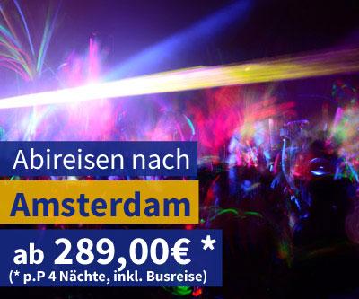 Abireisen Amsterdam