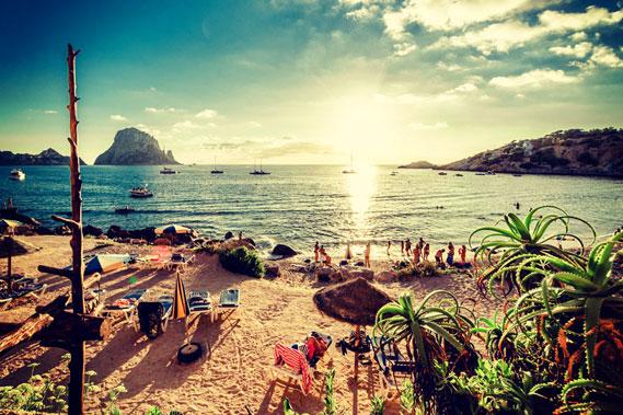 Abireisen Ibiza Strand