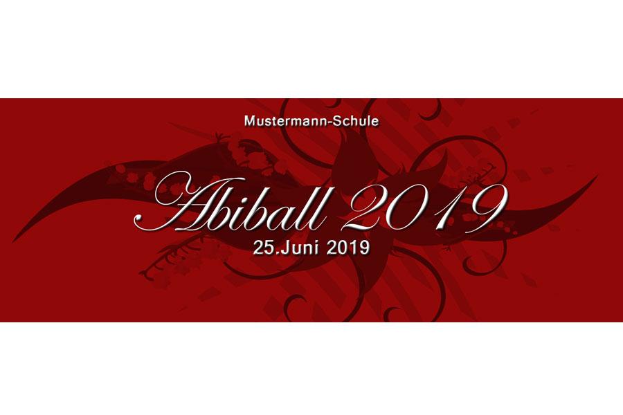 Abiball Eintrittskarte