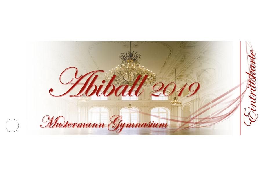 Abiball Eintrittskarten